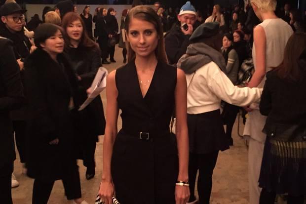 """MIttendrin im New Yorker Mode-Zirkus: """"Einfach grandios, dass ich dabei sein durfte. Mein erstes mal auf der Fashion Week New York."""""""