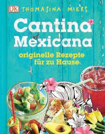 """Farbenfroh, vielseitig und voller Lebenslust – das ist die Küche Mexikos. Thomasina Miers beschert Fans der exotischen Genüsse ein kulinarisches Feuerwerk vom Frühstücksburrito bis zum Hühnchen mit Erdnuss-Mole. Die Gewinnerin der UK-Serie """"MasterChef"""" eröffnete nach ihrem Sieg eine Cantina namens """"Wahaca"""", die mittlerweile Filialen in ganz Südengland hat. (""""Cantina Mexicana"""", Dorling Kindersley Verlag, 224 S., 19,95 Euro)"""