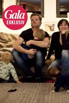 André Dietz, Shari Dietz und ihre drei Kinder