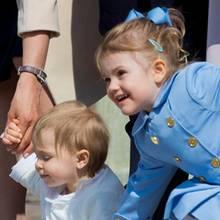Prinzessin Leonore und Prinzessin Estelle