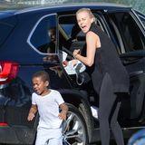 Charlize Theron, Sohn Jackson und Tochter August
