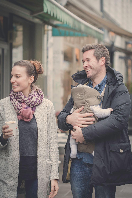 Julia mit Ehemann Jan Hartmann und Söhnchen Nicholas