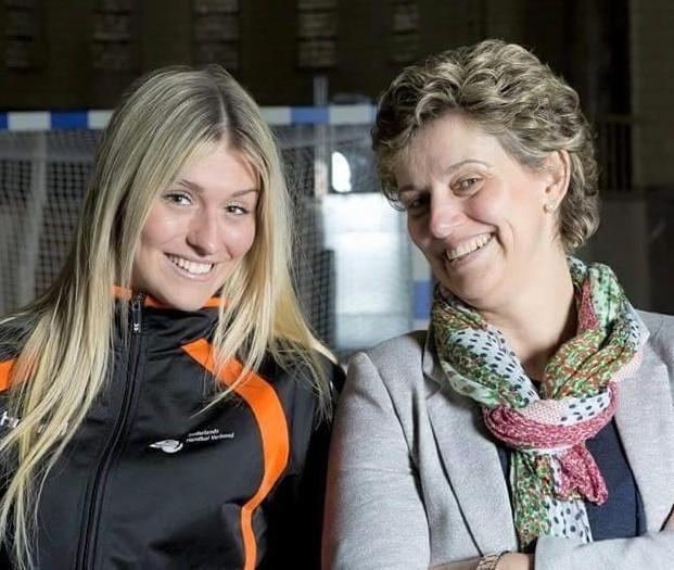 Estavana Polman mit ihrer Mutter Winniefred