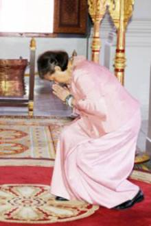 König Norodom Sihamoni + Prinzessin Sirindhorn