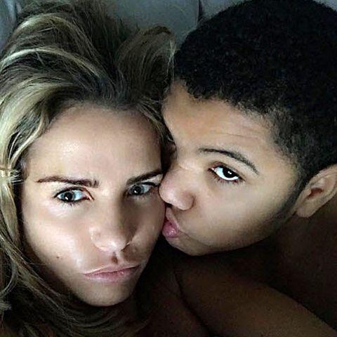 Katie Price und ihr Sohn Harvey
