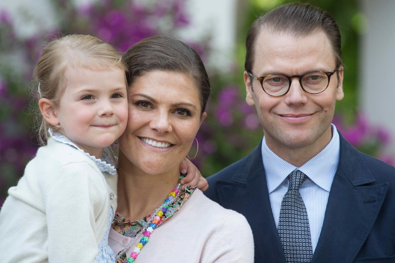 Prinzessin Estelle, Prinzessin Victoria + Prinz Daniel