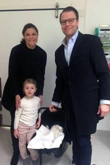 Prinzessin Victoria + Prinz Daniel: So heißt der kleine Prinz