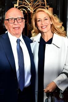 Rupert Murdoch, Jerry Hall