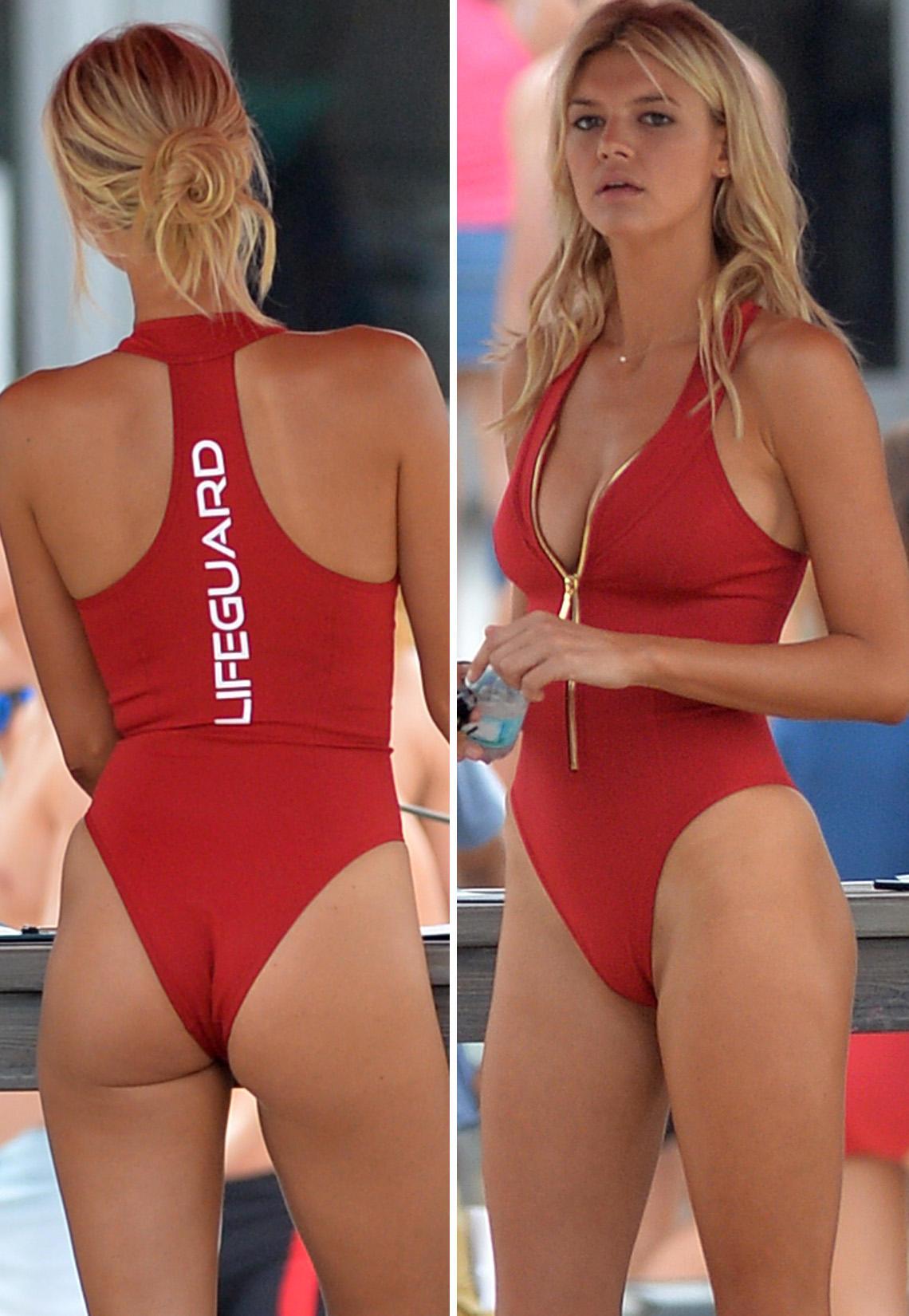 """Kelly Rohrbach: So sexy ist der neue """"Baywatch""""-Badeanzug"""