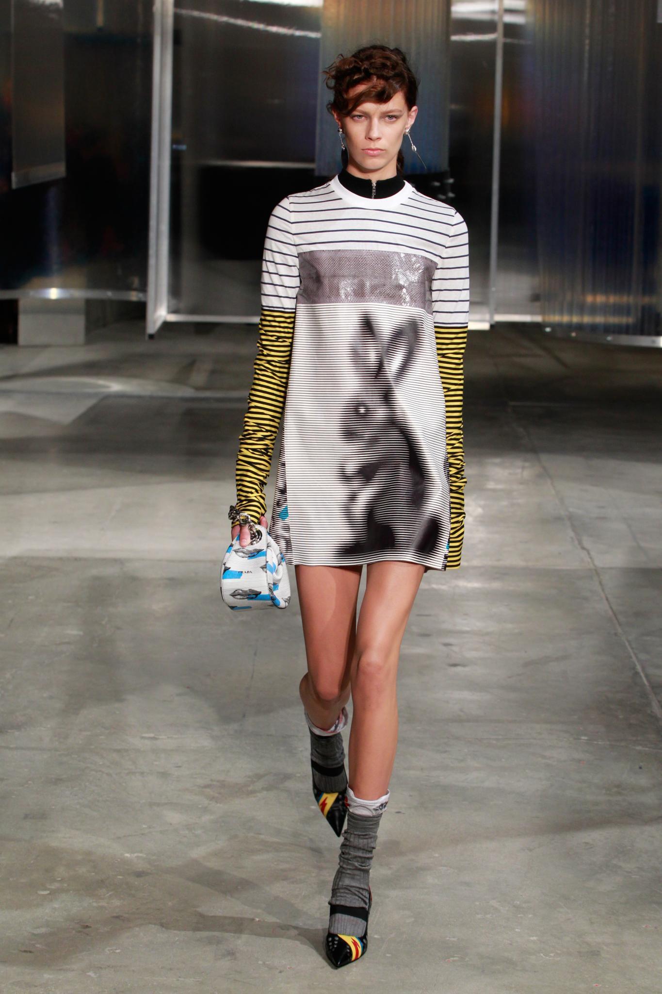 Hasen-Kleid von Prada