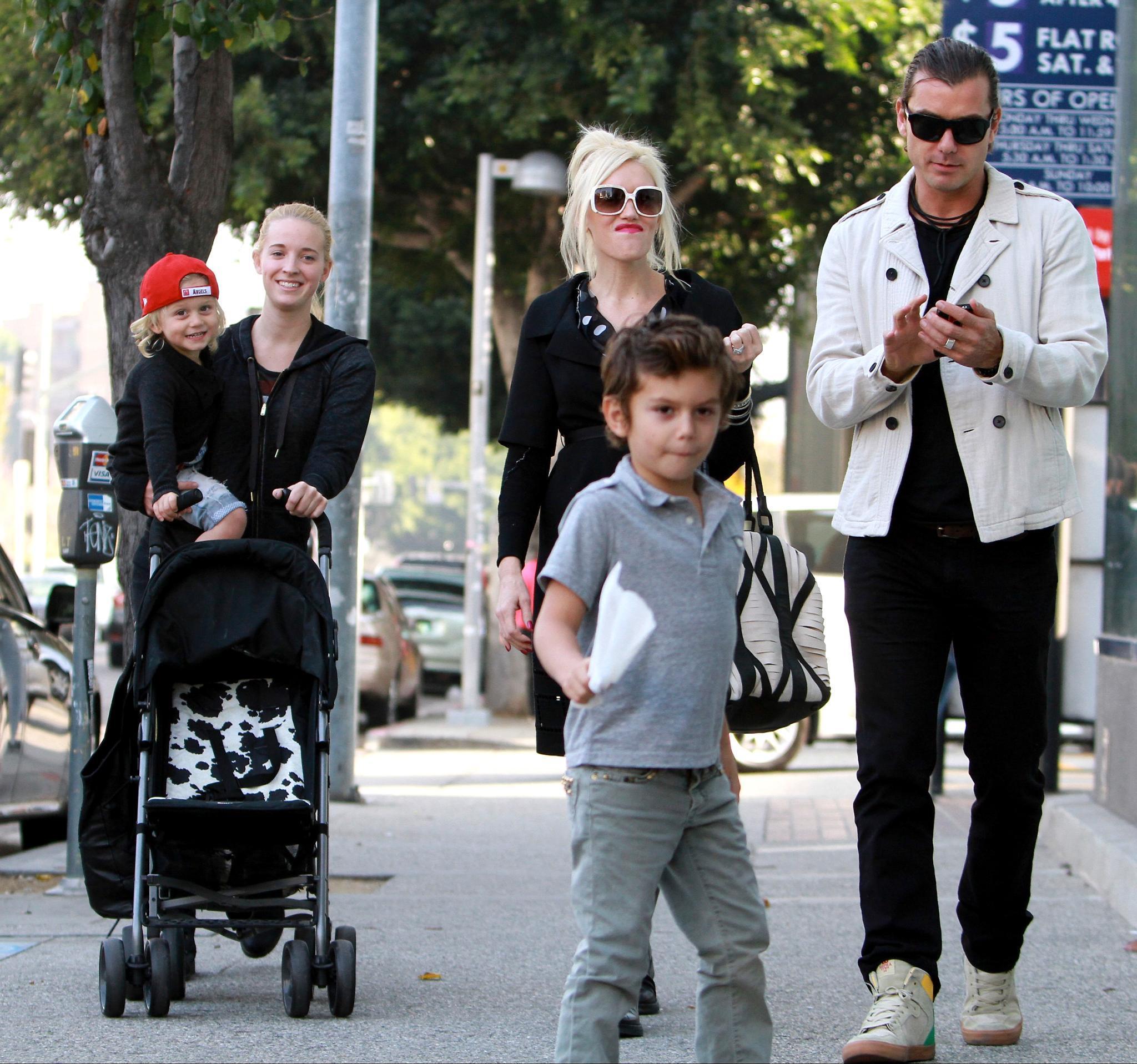 Gavin Rossdale Kinder