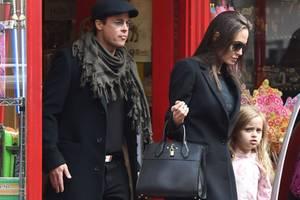 Brad Pitt, Angelina Jolie, Vivienne Jolie-Pitt