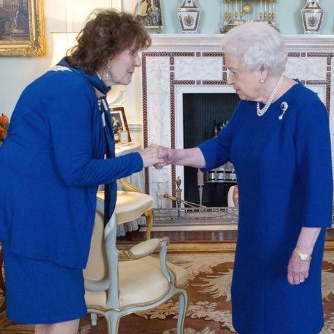 Lieutenant Governor of Alberta Lois Mitchell, Queen Elizabeth II