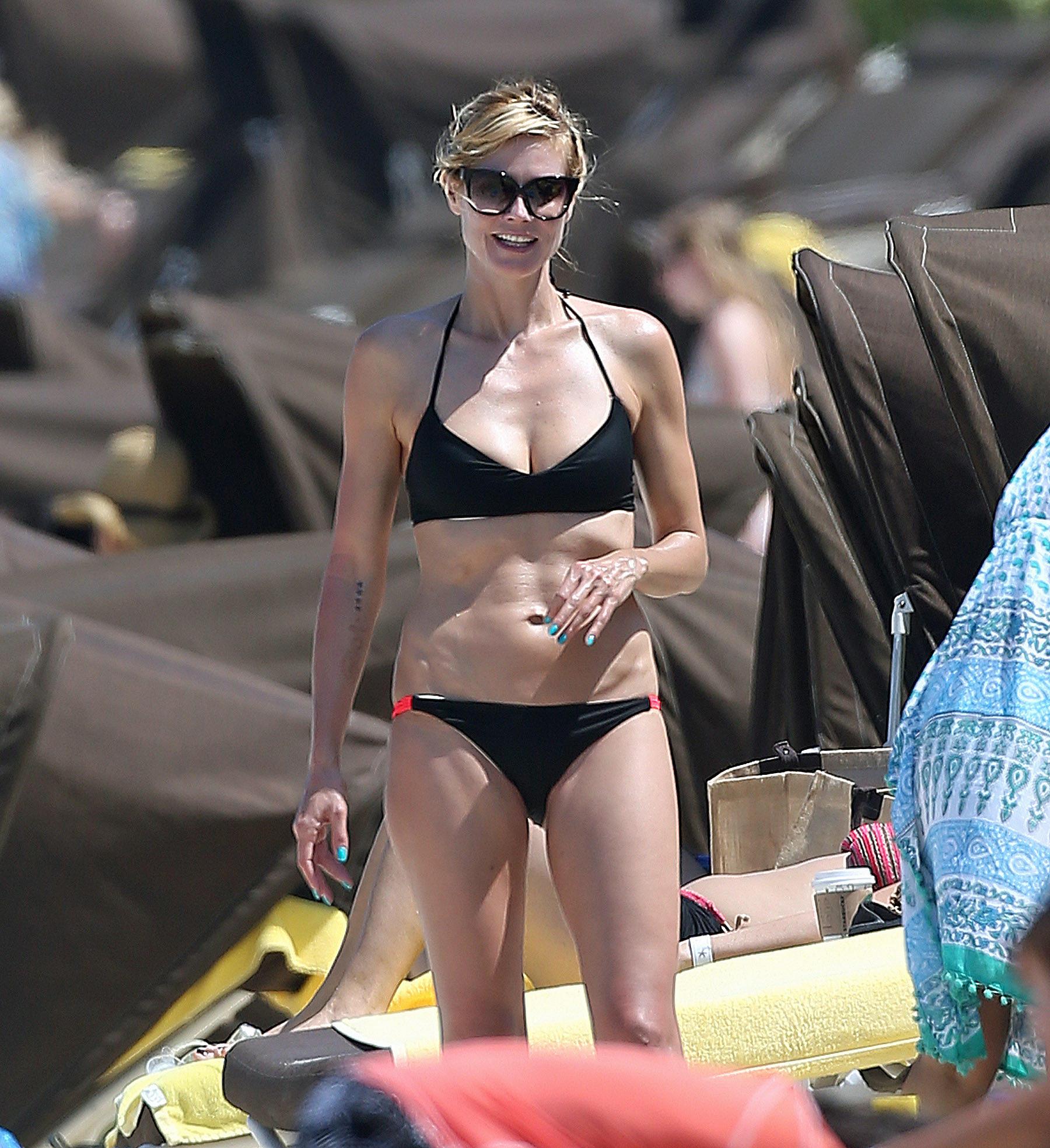 Heidi Klum hat mit ihren inzwischen 42 Jahren noch immer einen Superbody.