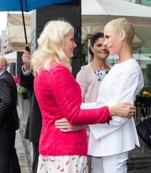 Kronprinzessin Mette-Marit mit Gunhild Stordalen