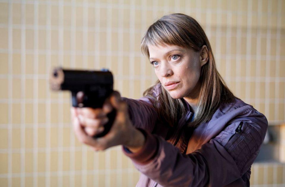 "Heike Makatsch im ""Tatort: Fünf Minuten Himmel"""