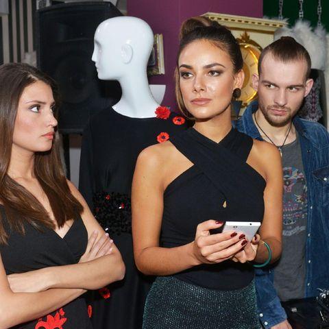 Nadine Menz, Jasmina Uhse, Eric Stehfest.