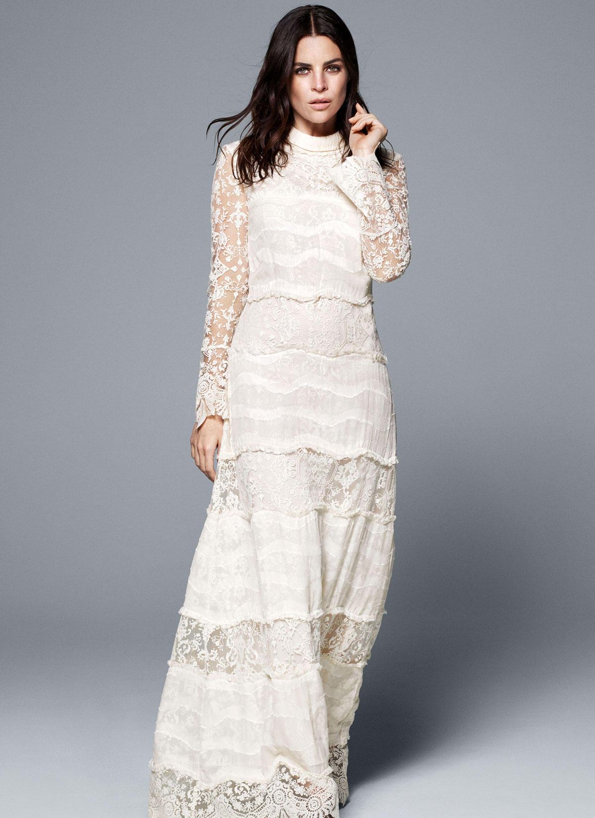 Günstige Brautkleider: Hochzeitskleider von H+M | GALA.de