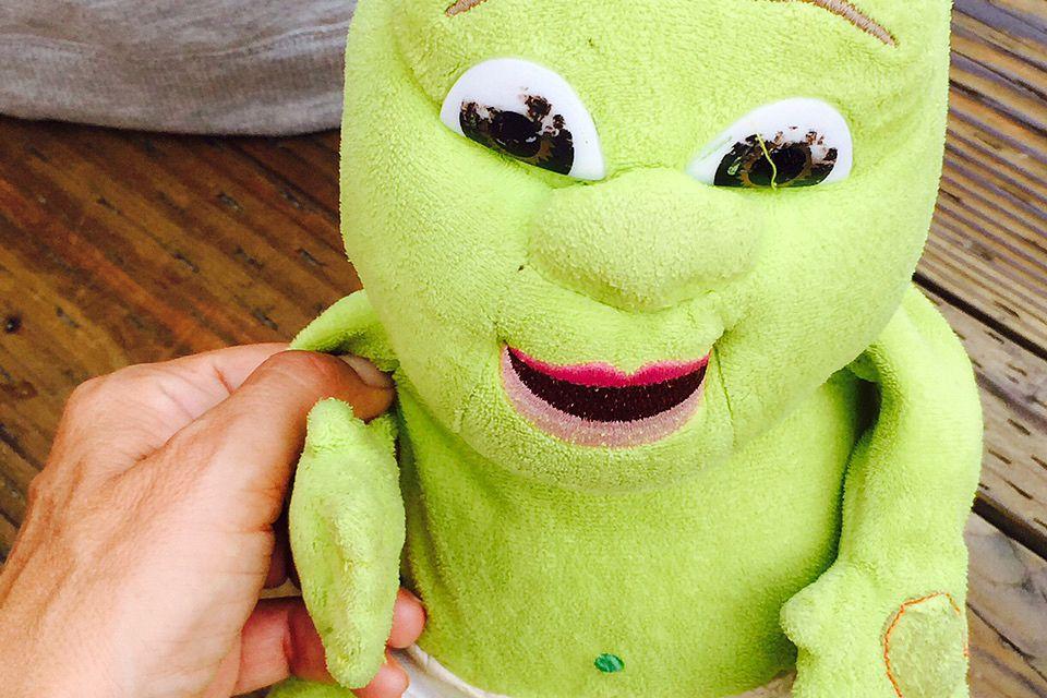 """Eine Woche Detox und schon träumt man von """"Shrek"""", dem grünen Kinderheld."""