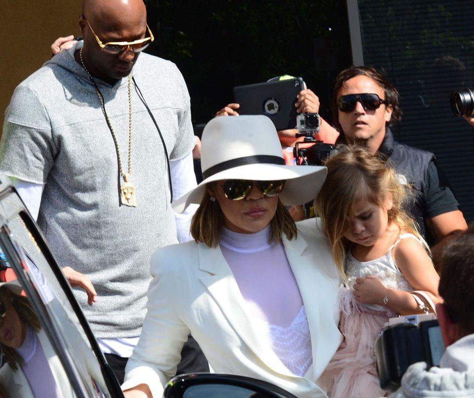 Liebescomeback? Khloé und Lamar besuchen gemeinsam einen Ostergottesdienst.