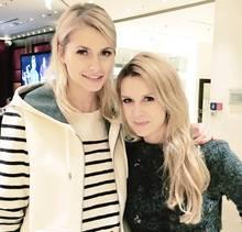 Topmodel Lena Gercke mit GALA-Chefreporterin Janina Kirsch.