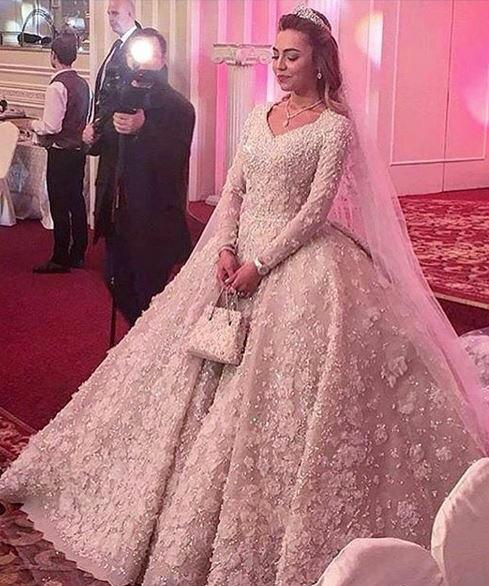 Ein echter Mädchentraum: Ein Hochzeitskleid von Elie Saab Couture.