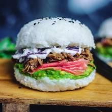 Neue Food-Erfindung: Hier kommt der Sushi-Burger