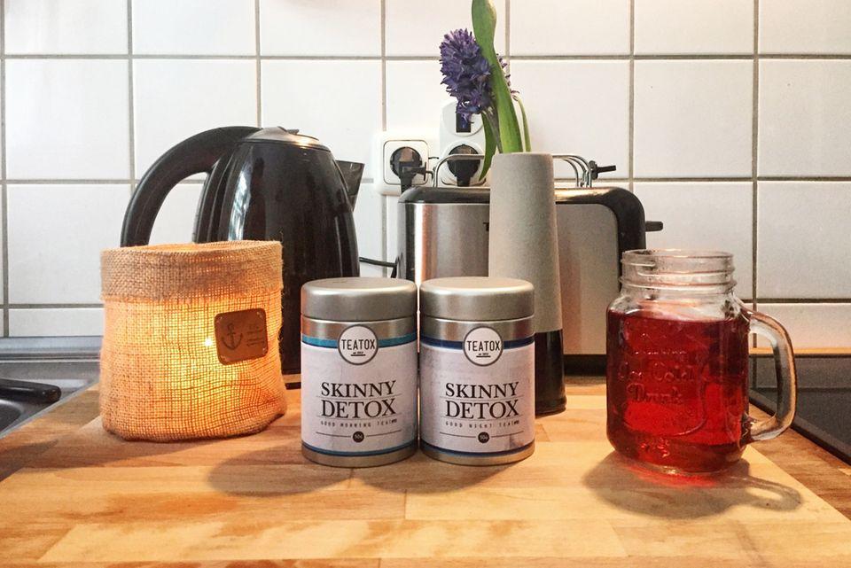 Good-Morning-Tea und Good-Night-Tea von Teatox