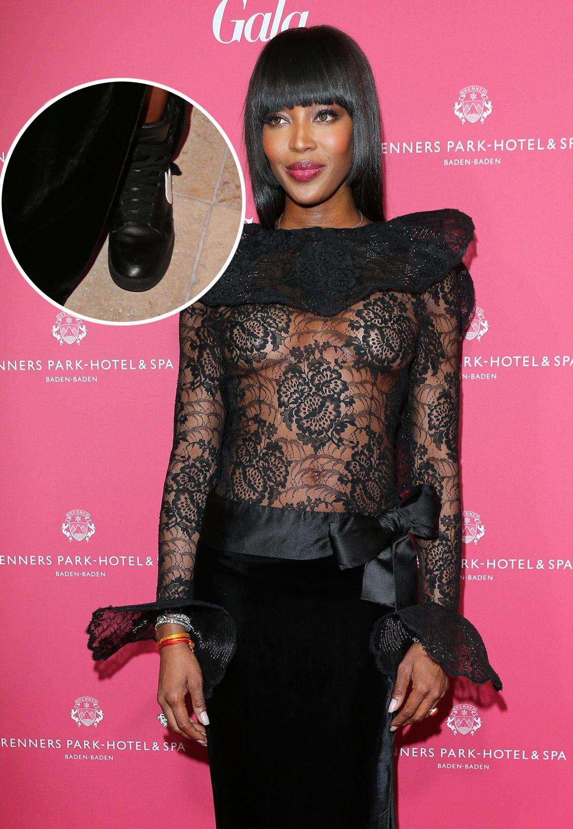 Naomi Campbell zu Gast auf dem Gala Spa Award