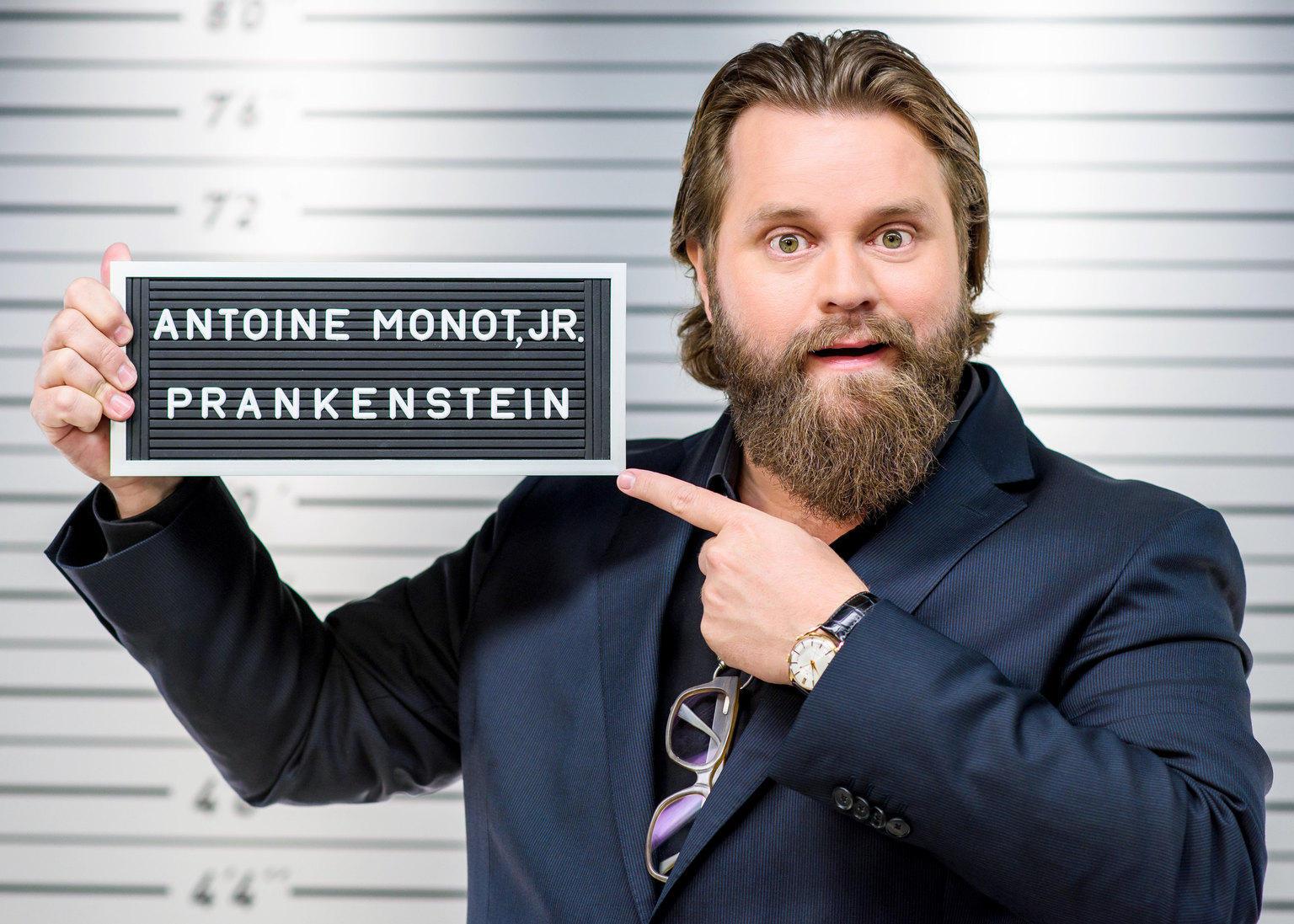 """Antoine Monot jr. spielt Streiche in """"Prankenstein"""""""