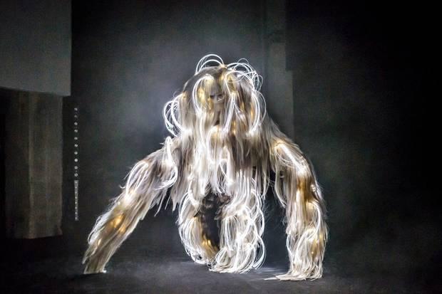 Eine Kreation von Hairstylist Charlie Le Mindu