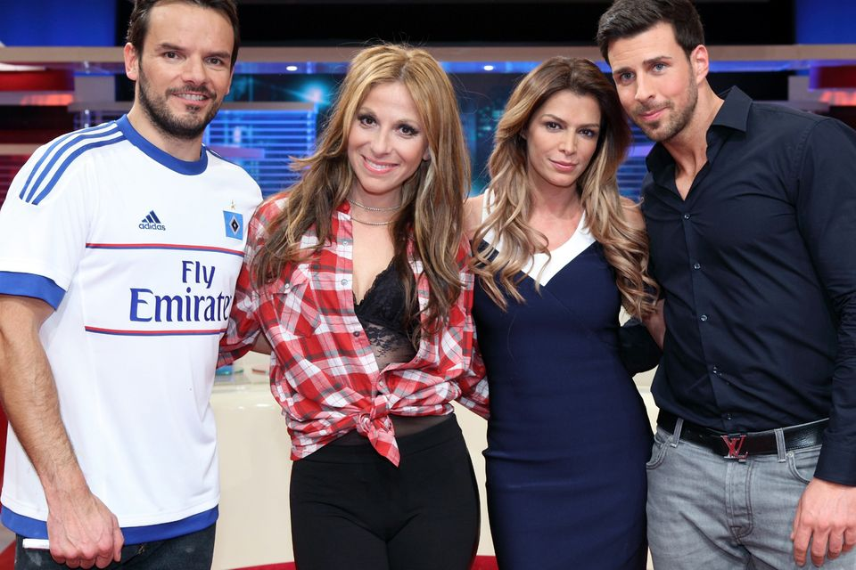 Steffen Henssler, Gülcan Kamps, Sabia Boulahrouz und Leonard Freier