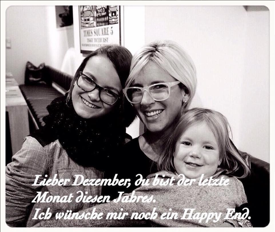 Nina Zacher und zwei ihrer Kinder.