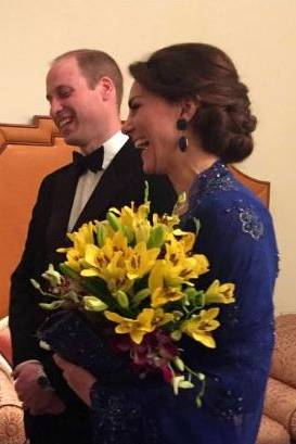 Boman Kohinoor, Prinz William, Herzogin Catherine