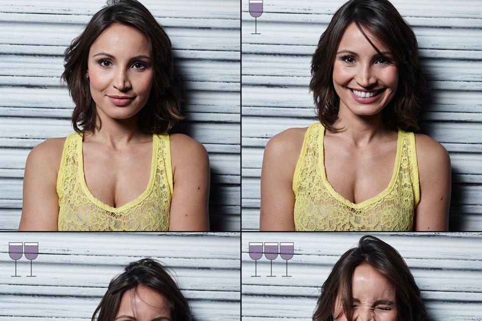 Wine Project: So verändern sich Gesichter nach dem Alkoholkonsum