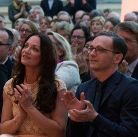 Natalia Wörner und Heiko Maas zeigen sich erstmals öffentlich