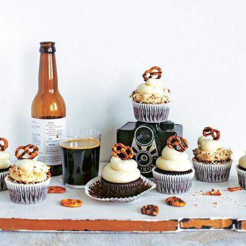 Brezel-Cupcakes