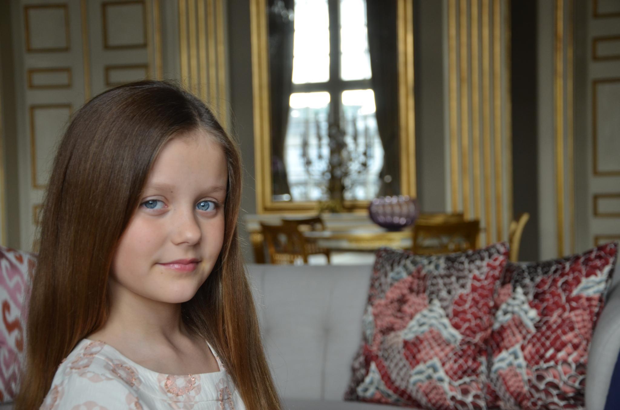 21. April 2016  Fotografiert wurde Isabella von ihrer Mutter, Prinzessin Mary, höchstpersönlich.