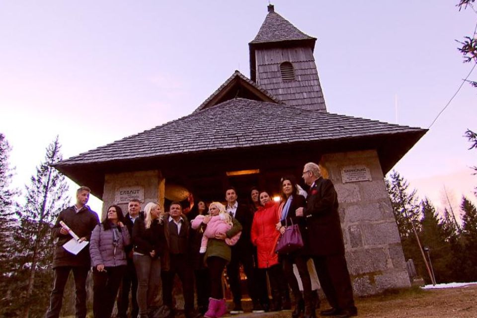 Bei der Taufe trafen die Familien Katzenberger und Cordalis das erste Mal aufeinander. Für Daniela Katzenberger ziemlich aufregend