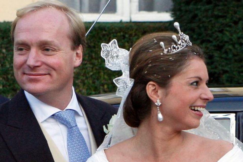 Prinz Carlos von Bourbon-Parma, Prinzessin Annemarie