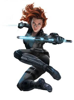 Unschlagbar: Scarlett Johansson in ihrer Rolle als Nahkämpferin und Spionin Black Widow