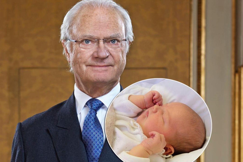 König Carl Gustaf, Prinz Alexander