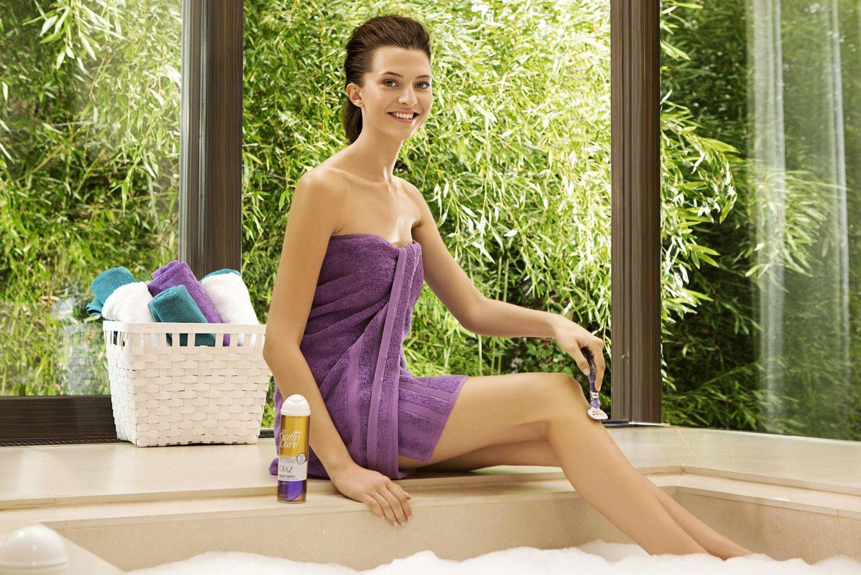 Fata in der Werbekampagne von Gillette Venus