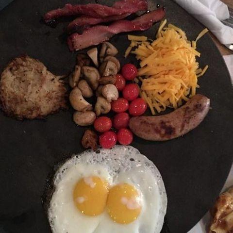 Frühstück in Südafrika