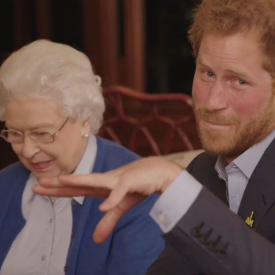 Prinz Harry und Verstärkung