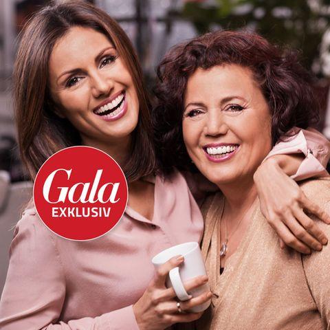 Nazan Eckes mit ihrer Mutter Gülser Üngör im GALA-Shooting.