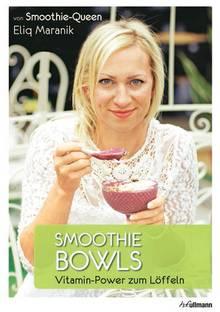 """Eliq Maraniks Smoothie-Kreationen sind gesunde Frühstücksalternativen für jeden modernen Großstadtzeitplan. (""""Smoothie Bowls"""", H.F. Ullmann, 144 S., 9,99 Euro)"""