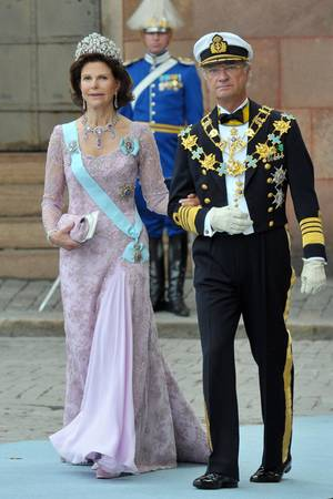 Königin Silvia, König Carl Gustaf (Archivbild)