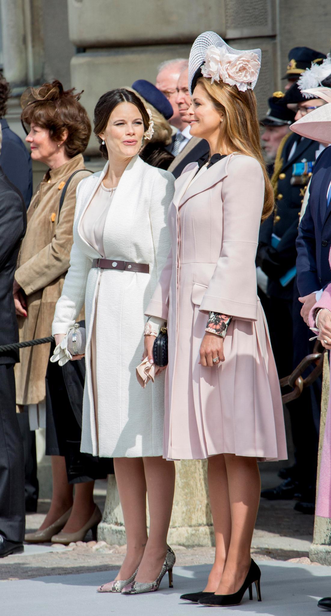 Prinzessin Sofia + Prinzessin Madeleine