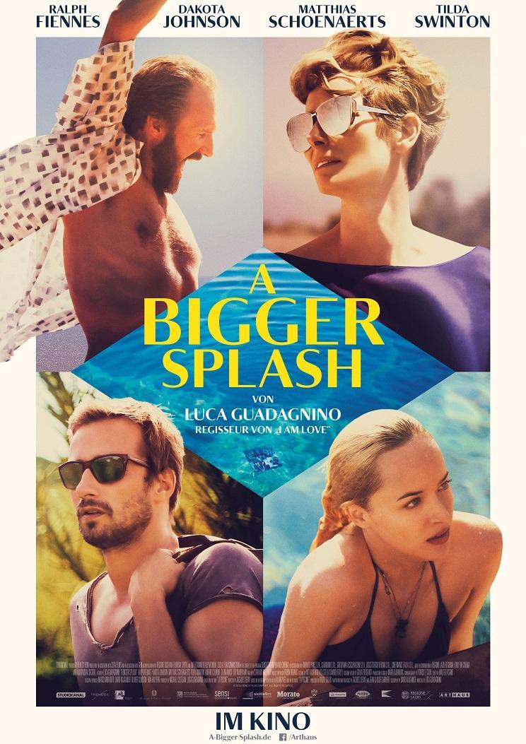 """A Bigger Splash"" läuft ab 5. Mai im Kino."